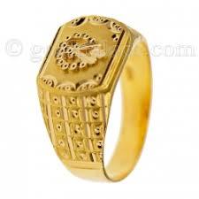 mens golden rings images Gold rings for men 22 k jpg