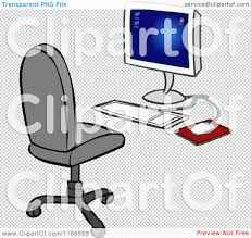 Office Chair Side View Vector Office Chair Vector Png