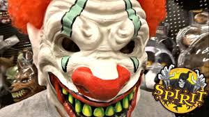 spirit halloween mask show 2017 over 80 masks u0026 props youtube