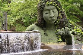 Discount Tickets To Atlanta Botanical Gardens Earth Goddess Mosaiculture Sculpture Picture Of Atlanta