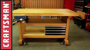 Gladiator Work Benches Bench Sears Work Bench Gladiator Premier Series In H X W D Maple