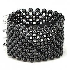 Wrist Corsage Bracelet Classic Black Wrist Corsage Bracelet