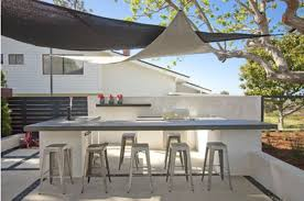 Outdoor Kitchen Set Zampco - Backyard kitchen design
