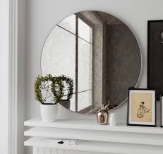 Frameless Molten Wall Mirror by Interior Frameless Full Length Mirror Frameless Wall Mirror