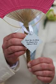 ceremony fans 82 best fan wedding favors images on wedding stuff
