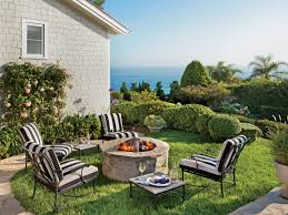fire pit with seating outdoor fire pit ideas and designs coastal living