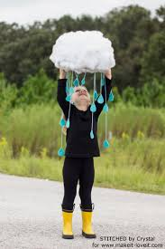 make a quick u0026 easy rain cloud costume for all ages make it