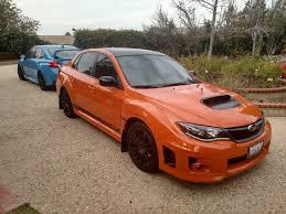 orange subaru wrx 2013 subaru wrx special edition
