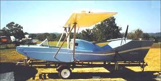 spratt controlwing flying boat plans