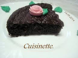 cuisine pour diabetique recette de gâteau au chocolat pour diabétique