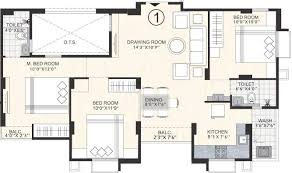 Sq Ft 1300 Sq Ft 3 Bhk 2t Apartment For Sale In Bakeri Swara Navapura