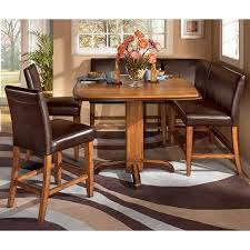urbandale corner counter height dinette signature design by ashley ashley furniture urbandale pub table chairs