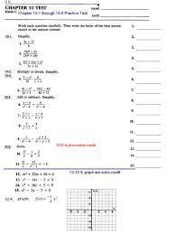 algebra i assignments