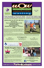 winter spring 2017 wow brochure by city of lewisville issuu