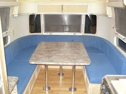 Rv Dinette Booth Bed 49 Best Airstream Dinette Front Bed Images On Pinterest Vintage
