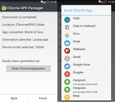 chrome android apk how to convert your android apps into chrome extensions