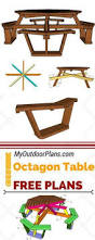 Octagonal Picnic Table Project by