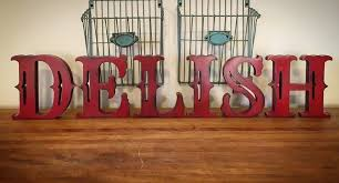 free standing wood letters stand alone letters home decor