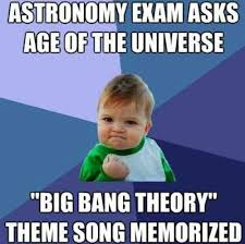Big Bang Theory Meme - the big bang theory comes in handy