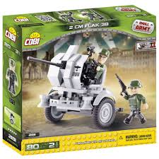 opel blitz with flak 38 cobi small army ww2 2181 flak 38 2 0 cm altoys