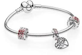 pandora silver bracelet with charms images Pandora moments silver bracelet with heart clasp in sterling jpg