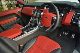 range rover interior interior design range rover sport red interior home decor color