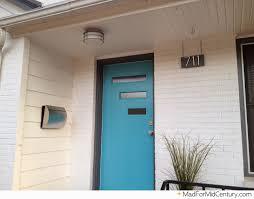 modern porch mid century modern front porch