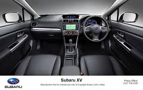 subaru hybrid interior subaru xv treated with interior upgrades and re tuned chassis in
