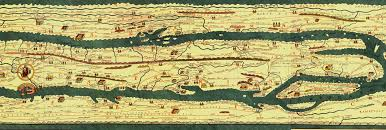 Roman Map The Tabula Puetingeriana Peutinger Table Peutinger Map Is An