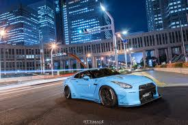 nissan gtr liberty walk blue liberty walk supercar tuner bodykits areo kit car