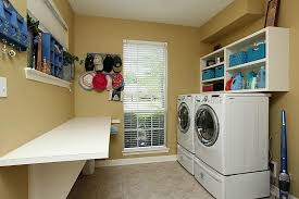 diy laundry folding table washing machine height with lid open mtc home design laundry