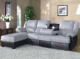 Power Sofa Recliners by Reclining Sectional Sectional With Recliner And Chaise Fabric