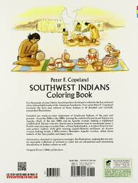amazon com southwest indians coloring book dover history
