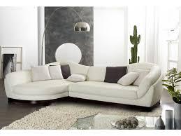 promo canapé d angle canapé d angle cuir de buffle 5 places ii blanc ivoire