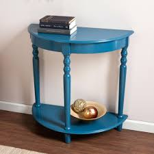 Blue Console Table Blue Console Table Navy Lacquer With Drawers Storage