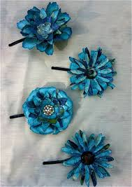 flowers for hair paper flowers for hair plucking daisies