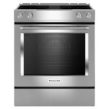 Jennair Electric Cooktop The Best Slide In Electric Range With Downdraft Dengarden