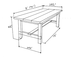 Diy Farmhouse Table And Bench Diy Farmhouse Table U0026 Bench Hometalk