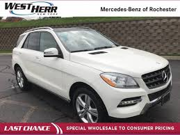 mercedes 4matic suv price used 2014 mercedes m class for sale rochester ny