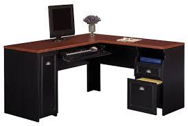 black glass corner desk notable snapshot of solid oak writing desk top modern l desk