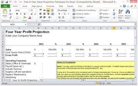 business projection template film financial projections movie