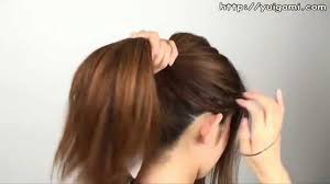 haircuts if your ears stick out protruding ears girl with ponytail youtube