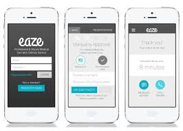 delivery service app eaze app grey round3 01 layout design order management