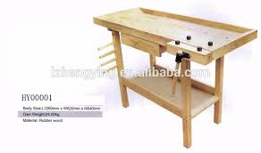hy00003 flexible multi functional woodworking wooden workbench