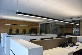 Lighting Solution Visual Comfort With An Elegant Lighting Solution In A New Office