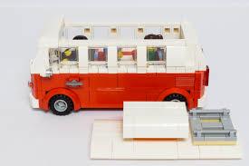 camper van lego volkswagen t1 camper van minifigure scale bricksafe