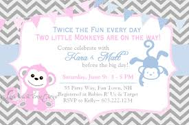 baby shower invitations for twin boys u2013 gangcraft net