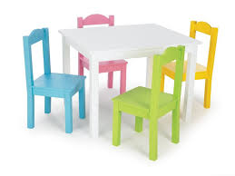 Tot Tutors Table Chair Sets Tot Tutors Kids Table And 4 Chair