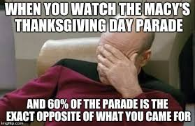 Thanksgiving Day Memes - captain picard facepalm meme imgflip
