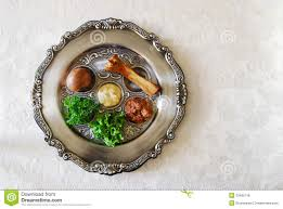 what s on a seder plate passover seder plate royalty free stock image image 23485716